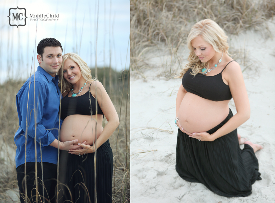 myrtle beach maternity session