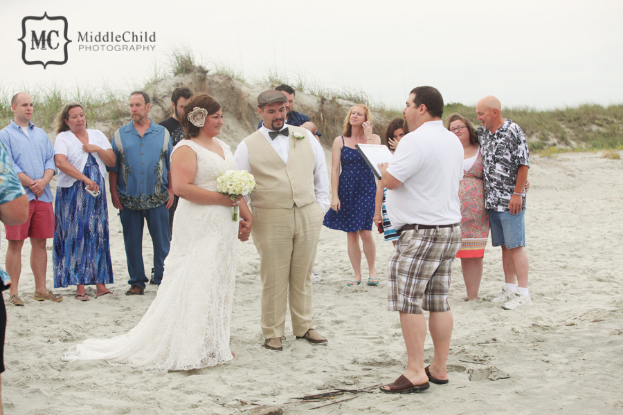 abbey and john s beach wedding myrtle beach wedding