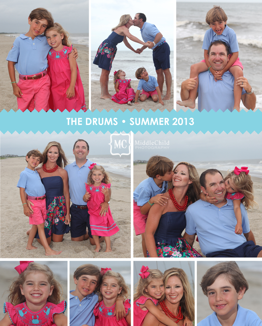 Family protraits Pawleys Island