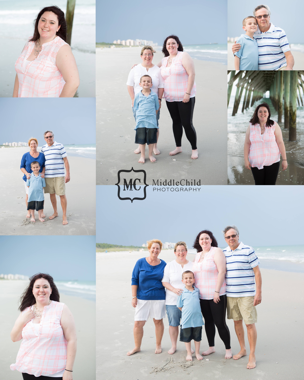 Surfside Beach Family Portraits