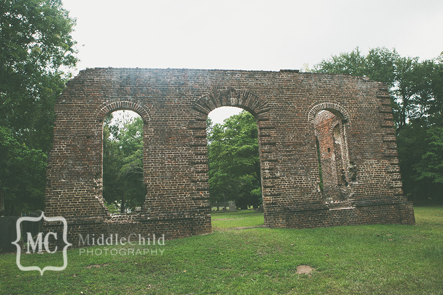 biggins church ruins