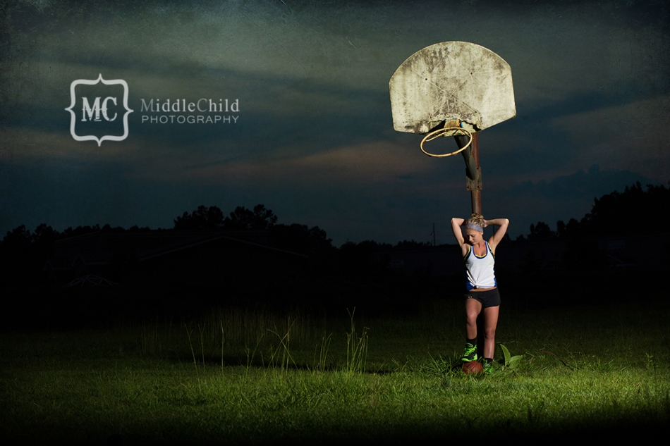 basketball senior portraits