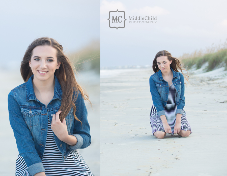 senior photos myrtle beach