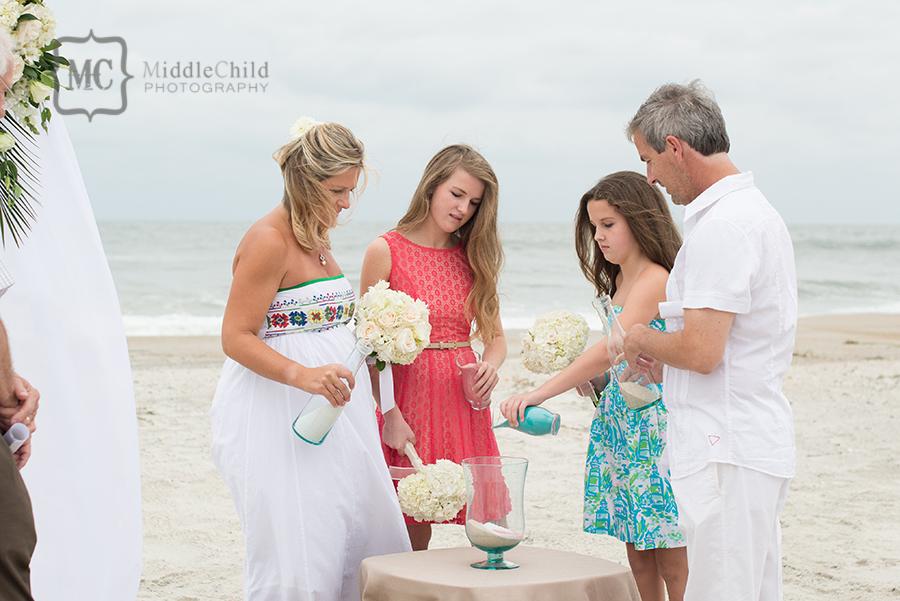 beach house wedding