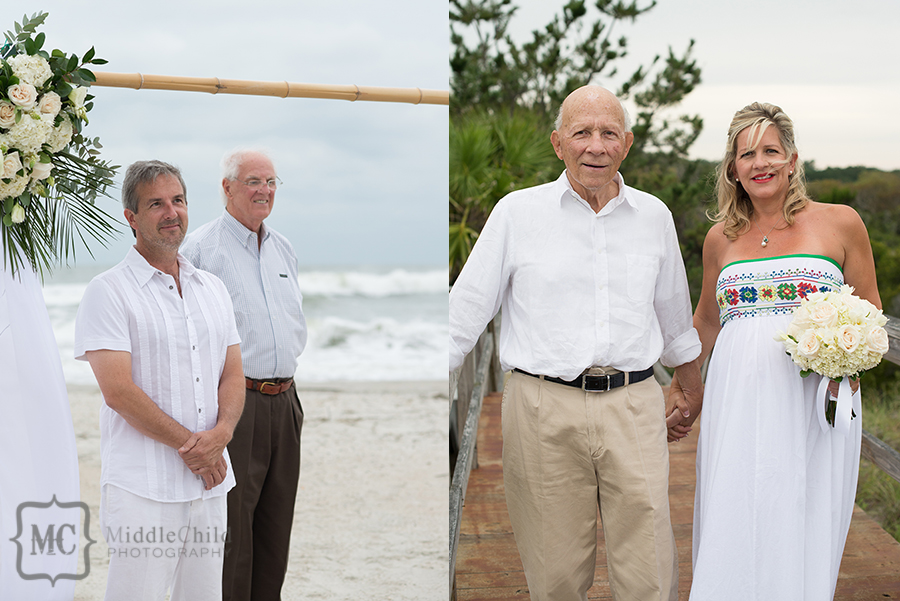 beach house wedding